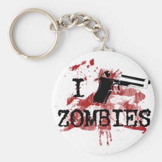 I Kill Zombies Key Ring