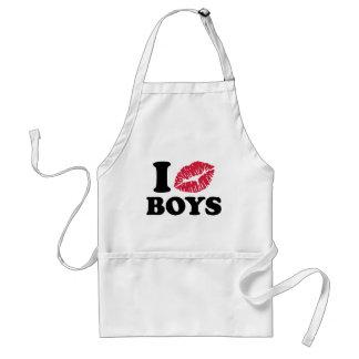 I kiss boys standard apron