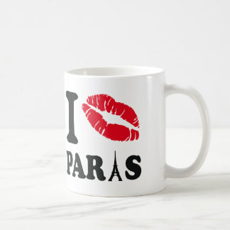 I kiss Paris Coffee Mug