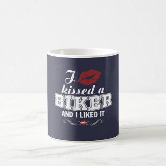 I kissed a BIKER and I liked it! Coffee Mug