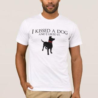 I Kissed A Dog T-Shirt