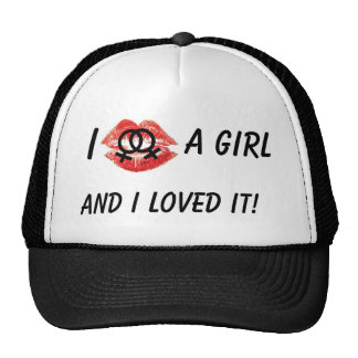 I Kissed a girl, black Hat