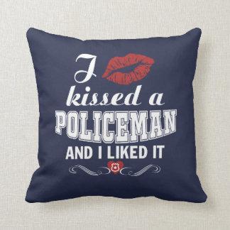 I kissed a POLICEMAN Cushion