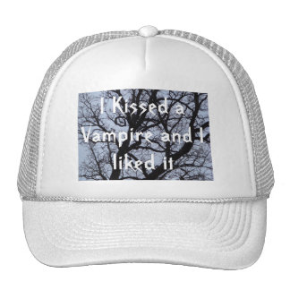 I Kissed a Vampire and I liked It Mesh Hats