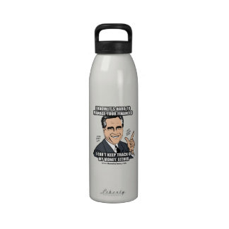I KNOW IT'S HARD TO MANAGE YOUR FINANCES REUSABLE WATER BOTTLES