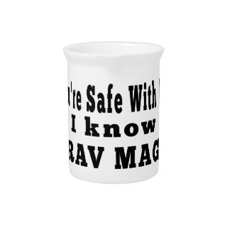 I know Krav Maga Beverage Pitchers