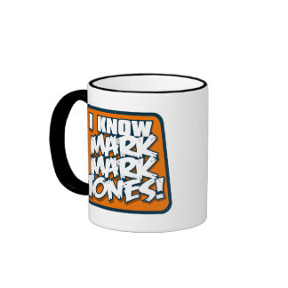 I Know Mark Mark Jones mug