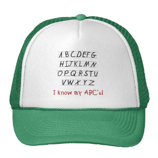 I Know My ABCs Tshirts and Gifts Cap