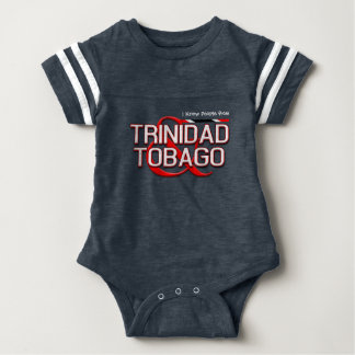 I Know People from Trinidad and Tobago Baby Bodysuit
