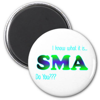 I Know SMA 6 Cm Round Magnet
