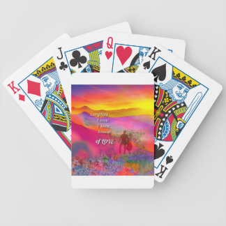 I know that I love you Bicycle Playing Cards