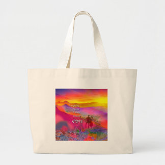 I know that I love you Large Tote Bag