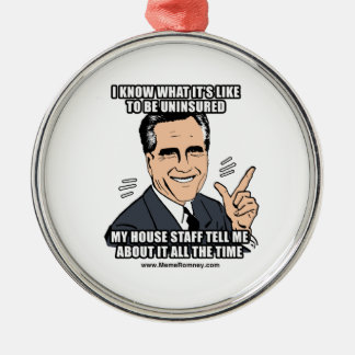 I KNOW WHAT IT'S LIKE TO BE UNINSURED CHRISTMAS TREE ORNAMENTS