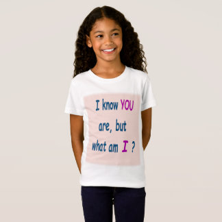 I know you are: Anti-Teasing phrase T-Shirt