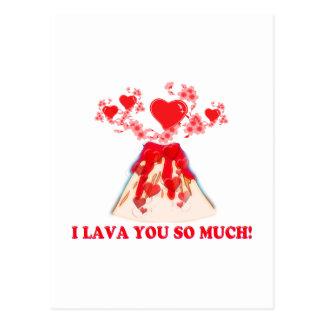 I Lava You Postcard
