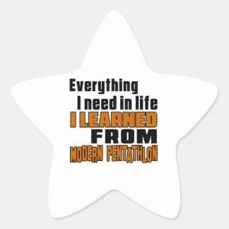 I learned From Modern Dance Star Sticker