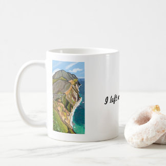 I Left My Heart at Bixby Bridge | Impressionist Coffee Mug
