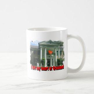 I Left My Heart At Graceland Basic White Mug