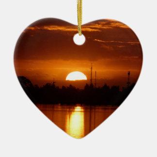 I left my heart in Australia Ceramic Heart Decoration
