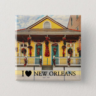 I Left my Heart in New Orleans Button