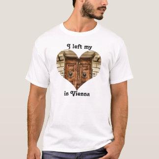 I Left My Heart in Vienna Austria Ornate Old Door T-Shirt