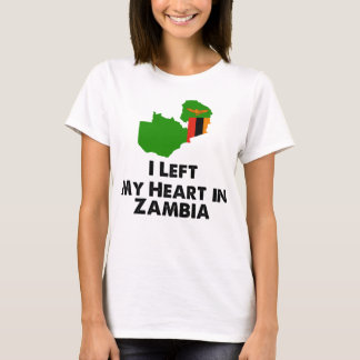 I Left My Heart in Zambia T-Shirt