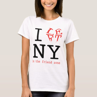 I Left NY in the Friend Zone T-Shirt