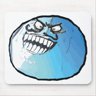 I lied meme rage face mouse pad