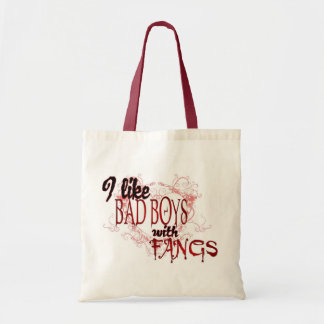 I like Badboys with Fangs Tote Bag