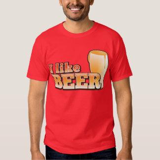I LIKE BEER alcohol drink design Shirt