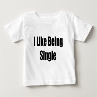 I Like Being Single Shirts