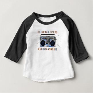 I Like Big Beats Baby T-Shirt