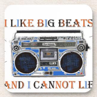 I Like Big Beats Coaster