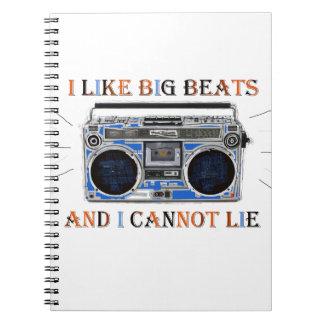 I Like Big Beats Notebooks