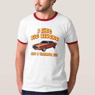 I Like Big Blocks & I Cannot Lie Dodge Challenger T-Shirt