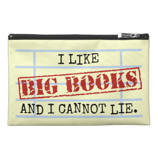 I Like Big Books and I Cannot Lie Funny Library Travel Accessories Bags