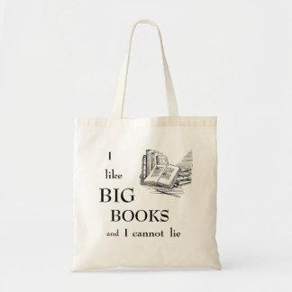 I Like Big Books And I Cannot Lie Tote Bag
