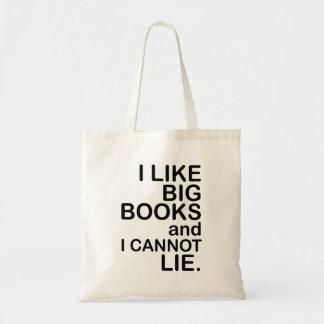 I Like Big Books. Bag