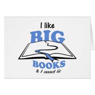I like Big Books Card