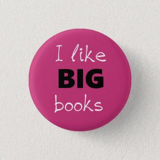 I Like BIG Books Customizable Pin