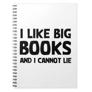 I Like Big Books Note Book