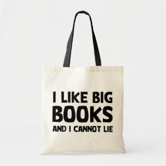 I Like Big Books Budget Tote Bag