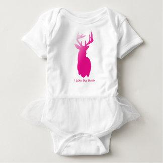 I Like Big Bucks Baby Bodysuit