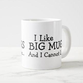 I Like Big Mugs And I Cannot Lie Jumbo Mug
