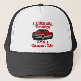 I Like Big Trucks .... Dodge Trucker Hat