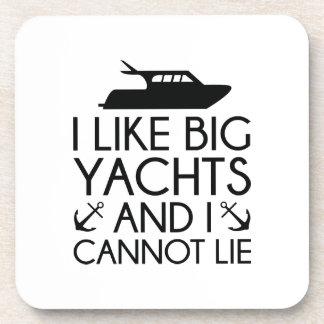 I Like Big Yachts Coasters