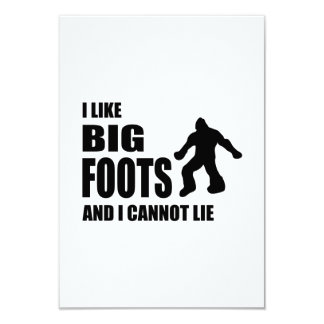I Like Bigfoots and I Cannot Lie Custom Announcements