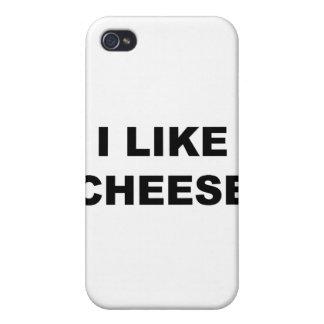 I Like Cheese iPhone 4 Case