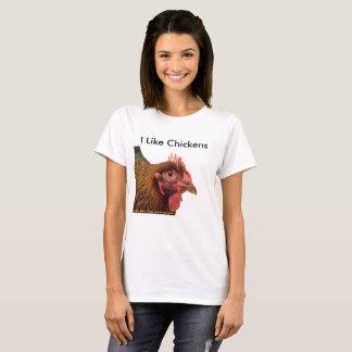 I Like Chickens - tshirt
