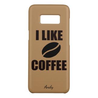 I like coffee Case-Mate samsung galaxy s8 case